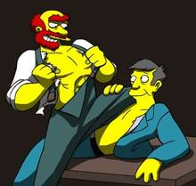 #pic3946: Groundskeeper Willie – Humon – Seymour Skinner – The Simpsons