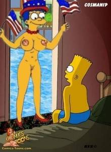 #pic222245: Bart Simpson – Cosmic – Kes – Marge Simpson – The Simpsons