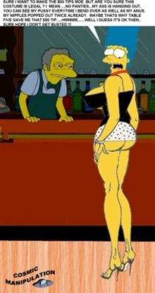 #pic222193: Cosmic – Marge Simpson – Moe Szyslak – The Simpsons
