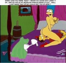 #pic222178: Cosmic – Lenny Leonard – Marge Simpson – The Simpsons
