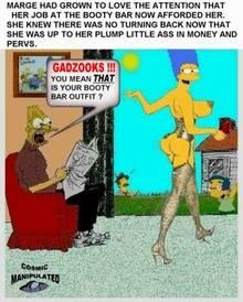 #pic222181: Abraham Simpson – Cosmic – Marge Simpson – Milhouse Van Houten – Ned Flanders – The Simpsons