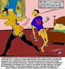 #pic222168: Cosmic – Marge Simpson – Moe Szyslak – The Simpsons