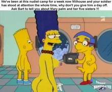 #pic222175: Bart Simpson – Cosmic – Marge Simpson – Milhouse Van Houten – The Simpsons