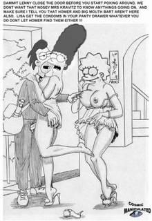 #pic222159: Cosmic – Lenny Leonard – Lisa Simpson – Marge Simpson – The Simpsons