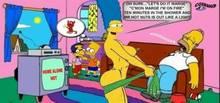 #pic222124: Bart Simpson – Cosmic – Homer Simpson – Marge Simpson – Milhouse Van Houten – The Simpsons