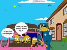 #pic222120: Bart Simpson – Chief Wiggum – Cosmic – Lisa Simpson – Maggie Simpson – Marge Simpson – The Simpsons