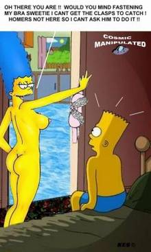 #pic222113: Bart Simpson – Cosmic – Marge Simpson – The Simpsons