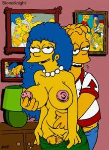 #pic216696: Bart Simpson – Marge Simpson – The Simpsons – animated