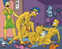 #pic217287: Bart Simpson – Lisa Simpson – Marge Simpson – Milhouse Van Houten – The Fear – The Simpsons