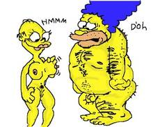 #pic214016: Homer Simpson – Marge Simpson – Rule 63 – The Simpsons