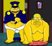 #pic212981: Chief Wiggum – Comic Book Guy – The Simpsons – lifetime