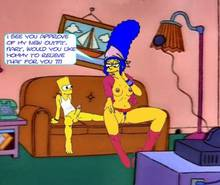 #pic211247: Bart Simpson – Marge Simpson – The Simpsons