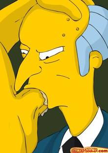 #pic1210376: Homer Simpson – Montgomery Burns – The Simpsons – comics-toons