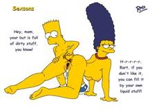 #pic200664: Bart Simpson – Marge Simpson – The Simpsons