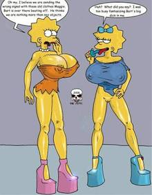 #pic200548: Lisa Simpson – Maggie Simpson – The Fear – The Simpsons