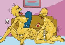 #pic199819: Bart Simpson – Homer Simpson – Lisa Simpson – Marge Simpson – The Fear – The Simpsons