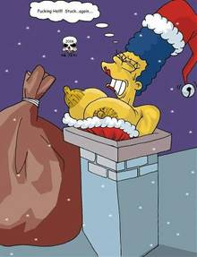 #pic199801: Christmas – Marge Simpson – The Fear – The Simpsons