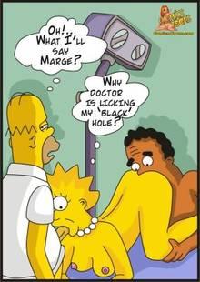 #pic1210396: Homer Simpson – Julius Hibbert – Lisa Simpson – The Simpsons – comics-toons