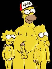 #pic198800: Bart Simpson – Homer Simpson – Lisa Simpson – The Simpsons – animated