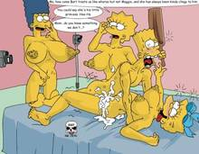 #pic180804: Bart Simpson – Lisa Simpson – Maggie Simpson – Marge Simpson – The Fear – The Simpsons