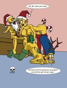 #pic180381: Bart Simpson – Christmas – Lisa Simpson – Marge Simpson – The Fear – The Simpsons