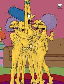 #pic178621: Lisa Simpson – Maggie Simpson – Marge Simpson – Patty Bouvier – Selma Bouvier – The Fear – The Simpsons