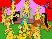 #pic178592: Allison Taylor – Bart Simpson – Edna Krabappel – Jessica Lovejoy – Lisa Simpson – Maggie Simpson – Manjula Nahasapeemapetilon – Marge Simpson – Maude Flanders – Mindy Simmons – Sophie – The Simpsons – WDJ