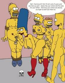 #pic173424: Bart Simpson – Homer Simpson – Lisa Simpson – Maggie Simpson – Marge Simpson – The Fear – The Simpsons