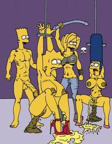 #pic173422: Bart Simpson – Lisa Simpson – Maggie Simpson – Marge Simpson – The Fear – The Simpsons