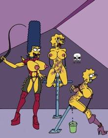 #pic173419: Lisa Simpson – Maggie Simpson – Marge Simpson – The Fear – The Simpsons