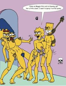 #pic173397: Bart Simpson – Lisa Simpson – Maggie Simpson – Marge Simpson – The Fear – The Simpsons