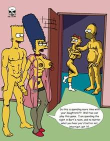 #pic173396: Bart Simpson – Homer Simpson – Maggie Simpson – Marge Simpson – The Fear – The Simpsons