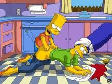 #pic10867: Bart Simpson – Marge Simpson – The Simpsons