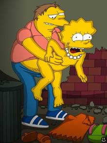 #pic10865: Barney Gumble – Lisa Simpson – The Simpsons