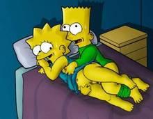 #pic7591: Bart Simpson – Lisa Simpson – The Simpsons – battle angel