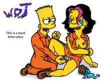#pic7039: Bart Simpson – Gina Vendetti – The Simpsons – WDJ