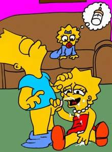 #pic66996: Bart Simpson – Escoria – Lisa Simpson – The Simpsons