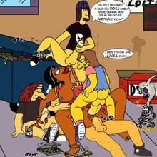 #pic63767: Dolph Starbeam – Jimbo Jones – Kearney Zzyzwicz – Manjula Nahasapeemapetilon – Nelson Muntz – The Simpsons – blargsnarf
