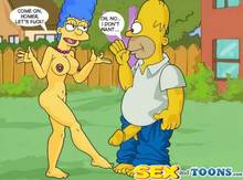 #pic63730: Homer Simpson – Marge Simpson – The Simpsons – sex and toons