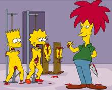 #pic62747: Bart Simpson – Lisa Simpson – Sideshow Bob – The Simpsons – Wolverine (artist)