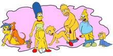 #pic59009: Abraham Simpson – Bart Simpson – Hoaxman – Homer Simpson – Lisa Simpson – Maggie Simpson – Marge Simpson – Milhouse Van Houten – The Simpsons