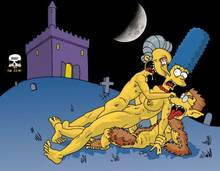 #pic50729: Marge Simpson – Montgomery Burns – The Fear – The Simpsons – Waylon Smithers