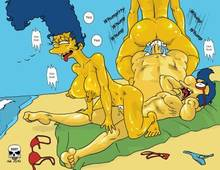 #pic50722: Marge Simpson – Milhouse Van Houten – The Fear – The Simpsons