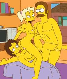 #pic47528: Katja – Ned Flanders – The Simpsons – Vicky