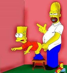 #pic33989: Bart Simpson – Homer Simpson – The Simpsons