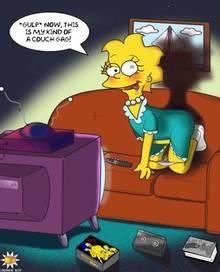 #pic80275: Lisa Simpson – Orange Box – The Simpsons